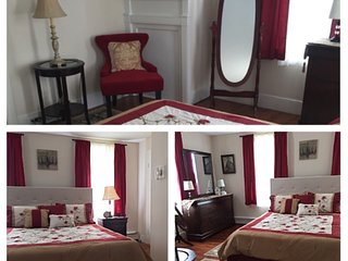"""The Abbey Room,"" shared full bath in hallway. - Gettysburg vacation rentals"