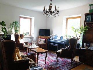 vintage bedroom and bathroom in a villa - Gargazzone vacation rentals