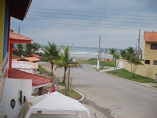 sobrado beira mar varanda vista da praia e churras - Itanhaem vacation rentals