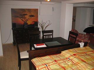 Souterrainwohnung, 1 Zimmer 46 qm + Küche + Bad - Halle vacation rentals