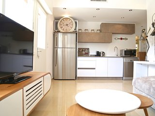 Designer 2 BR with sun balcony - Old North - Tel Aviv vacation rentals