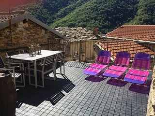 Rezzo holiday home rental Casa di Farfalla - Rezzo vacation rentals
