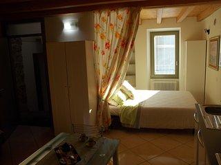 Cozy 1 bedroom Gandino Condo with Garage - Gandino vacation rentals