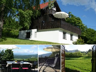 Traditional Alpine chalet with stunning views - Stahovica vacation rentals