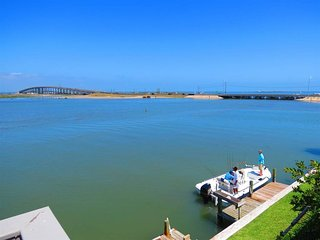 2BR/2BA Waterfront Condo w/Boat and Fishing Dock - Corpus Christi vacation rentals