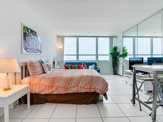 Refreshing oceanfront space with access to beach & shared pool - Miami Beach vacation rentals