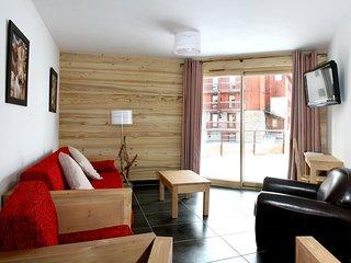 Cozy 2 bedroom Apartment in Tignes with Internet Access - Tignes vacation rentals
