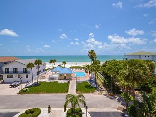 San Remo 307 - Spacious 3 Bedroom with Gulf View Balcony & Gulf Front Pool! - Redington Shores vacation rentals