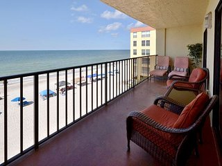 Las Brisas 306 Gulf Front with Updated Kitchen, Free WiFi &  2 Parking Spaces - Madeira Beach vacation rentals