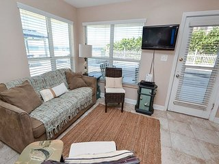 Sea Rocket #7- Totally Renovated Gulf Front, Stylish Ground Floor Condo! - North Redington Beach vacation rentals