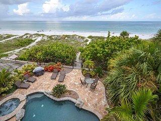 Gulfside Manor 2- Amazing Gulf Front 3 Bedroom Condo on Indian Rocks Beach! - Indian Rocks Beach vacation rentals