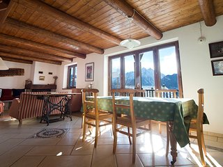 Split level flat with stunning views and Sauna - Saint Nicolas vacation rentals