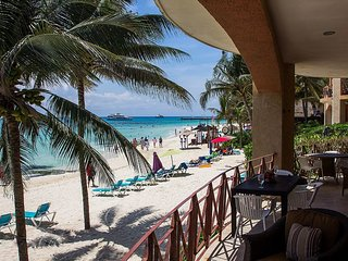 Luna Encantada C1 - Absolutely a Beachfront Gem Condo with infiniti pool - Playa del Carmen vacation rentals