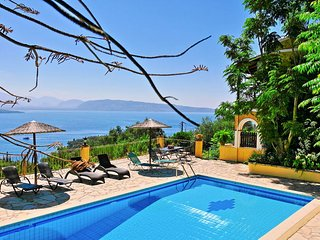 Villa Theresa with private pool above San Stefanos - Kassiopi vacation rentals