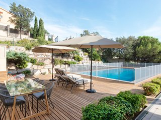 Sea & City View Villa w/Pool - 5BR - Barcelona vacation rentals