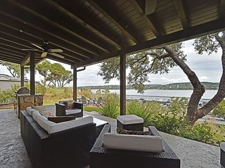 Lake Views From an Impeccable Patio at the Reserve at Lake Travis - Spicewood vacation rentals