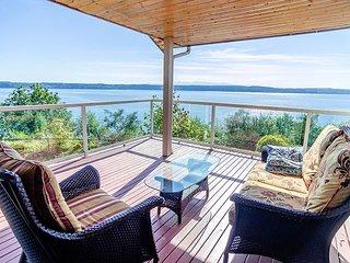Sound Views from Camano Island Home - Huge Highbank Property with Gazebo - Camano Island vacation rentals