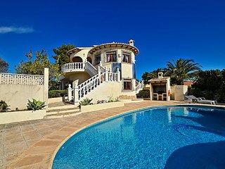 4 bedroom Villa in Moraira, Costa Blanca, Spain : ref 2250431 - La Llobella vacation rentals