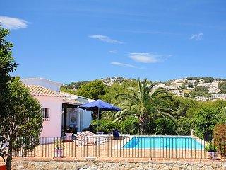 5 bedroom Villa in Moraira, Costa Blanca, Spain : ref 2011346 - La Llobella vacation rentals