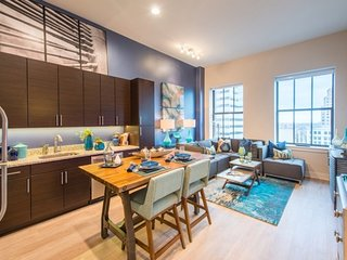 Furnished 2-Bedroom Apartment at Light St & E Baltimore St Baltimore - Baltimore vacation rentals