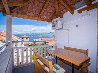 TH01512 Apartments Banić / One Bedroom A4 - Postira vacation rentals