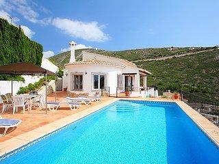 3 bedroom Villa in Moraira, Costa Blanca, Spain : ref 2372187 - Teulada vacation rentals