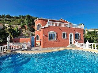 4 bedroom Villa in Moraira, Costa Blanca, Spain : ref 2242520 - Benitachell vacation rentals