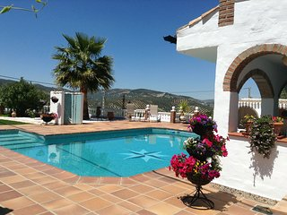 Kayenne pool side apartment with its own private roof terrace - Iznajar vacation rentals
