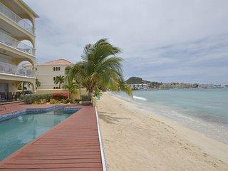 SEA BEACH TREASURE...Gorgeous 2BR Penthouse on Simpson Bay Beach, St Maarten - Simpson Bay vacation rentals