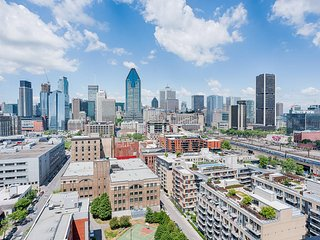 Apt furnished tt included 2 bedrooms - Montreal vacation rentals