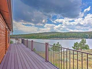 Rare Waterfront 2BR Crystal Lakes Home w/Lake & Mtn Views! - Red Feather Lakes vacation rentals