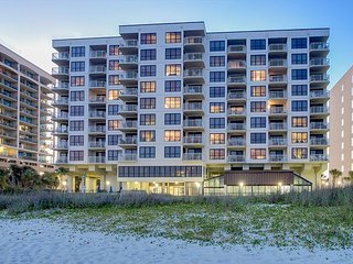 3 bedroom, 2 bathroom, oceanfront condo - North Myrtle Beach vacation rentals