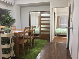 3 bed rooms! Wi-Fi 2min to station. - Shibuya vacation rentals