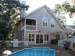 5BR Marsh Beach Home w/ Pool, Hot Tub, Gameroom - Johns Island vacation rentals