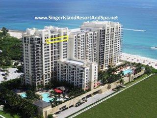 Marriott Resort&Spa-OwnerCondos-19thFl-RareTripleBalcony-RareDiningTable-WiFI TV - Singer Island vacation rentals