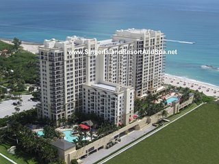 CONSTRUCTION RATES to Feb 28. Marriott Resort Spa-OwnerCondos. Dining Table 6! - Singer Island vacation rentals
