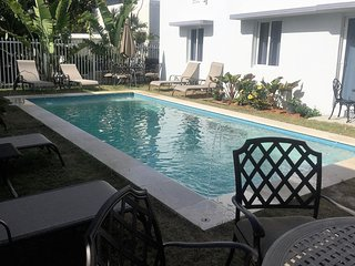 3 Bedroom POOL House across the street from  Beach - Miami Beach vacation rentals