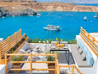 Lindos Shore Summer House with jacuzzi & sea view - Lindos vacation rentals