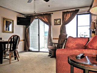 1BR/1BA Corner Unit in Mtn Lodge with Great View of Mountains and Lake! - Snowshoe vacation rentals