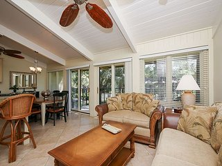 8 H H Beach Villa - Beautiful Villa Pool Side Villa - Oceanfront Complex - Hilton Head vacation rentals