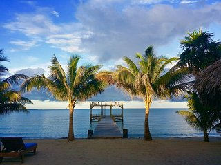 Villa Rising Sun Beachfront with Beach Bar & Dock - Hopkins vacation rentals
