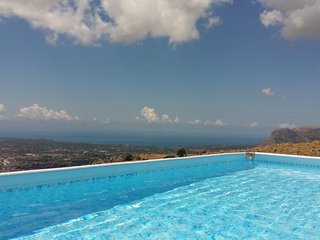 Ap. 130 sq m with large terrace, pool and sea view - Borgetto vacation rentals