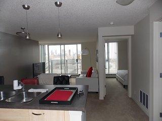 Fastlane Suites on 25 Avenue SW, #608- 1 bedroom - Calgary vacation rentals