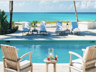 Luxury 5 bedroom Turks and Caicos villa. Luxury Beachfront! - Grace Bay vacation rentals