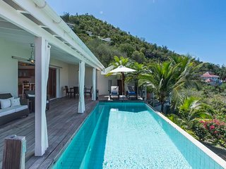 Villa Mille Etoiles at Corossol, St. Barth - Beautiful Sunset View - Corossol vacation rentals