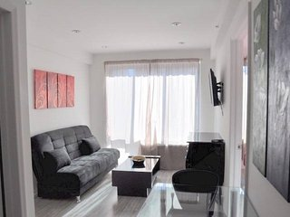 Classy 2 Bedroom, 1 Bathroom Apartment in NYC - Large Windows - Weehawken vacation rentals
