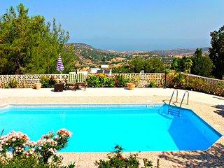 Lysos - Idyllic Location - 3 Bed Villa - Sea Views - Lysos vacation rentals