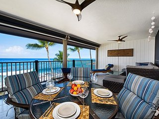 Remodeled, Spacious Oceanfront 2 bedroom condo w/~AC~ spectacular views - Kailua-Kona vacation rentals