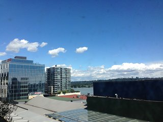 window river view by the skytrain station - New Westminster vacation rentals
