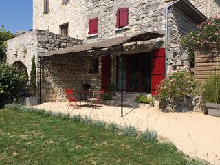 Charming Gite with Internet Access and Outdoor Dining Area - Saint-Maurice-d'Ibie vacation rentals